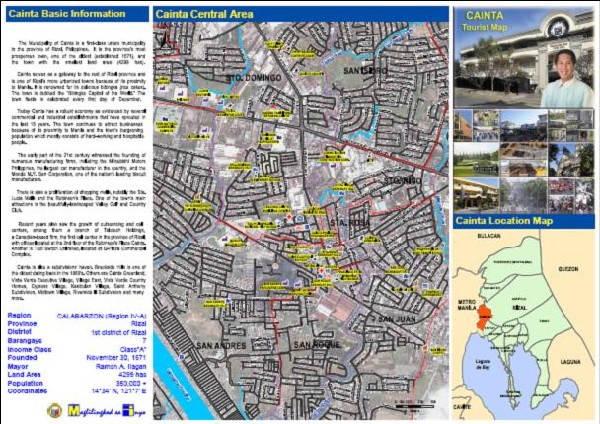 Rizal Philippines Map.Srdp Consulting Inc